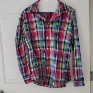 Ralph Lauren Size 14 Button Up Shirt